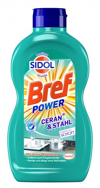 Sidol Bref Power Reiniger Ceran & Stahl