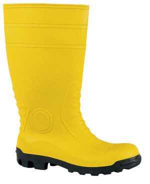 Sicherheits-Gummistiefel S5, gelb