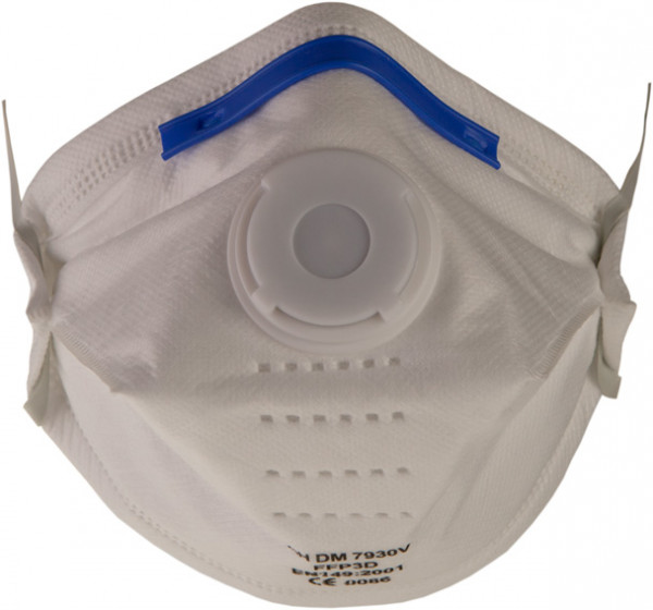 Feinstaubmaske FFP3 – 7930V mit Ventil P3