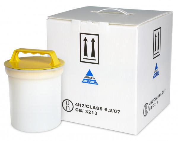 Gefahrgut-Biotransporter ohne Dose, 4H2 Class 6.2