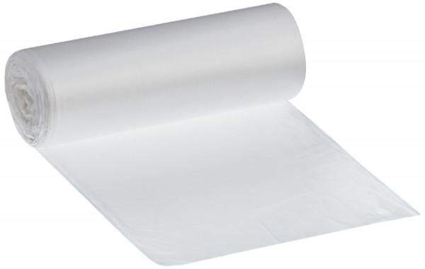 Abfallsack 30 Liter, weiß 500x600 mm, Rolle = 50 Stück