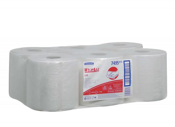 Kimberly-Clark Wischtuch Wypall L10 RCS, weiß