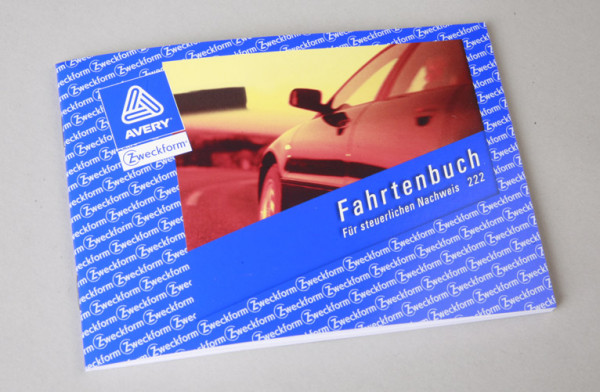 Fahrtenbuch DIN A6