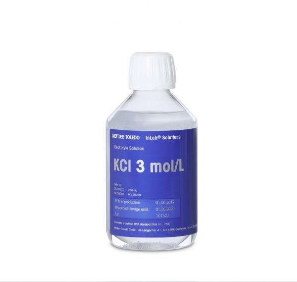 Mettler-Toledo Elektrolyt 3 mol/L KCl Lösung, 6x250 ml