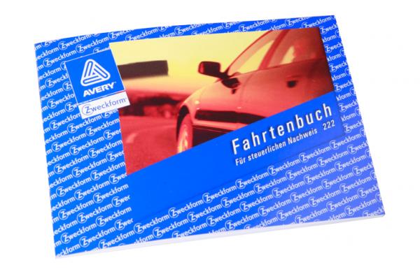 Fahrtenbuch für Kraftfahrzeuge, DIN A6