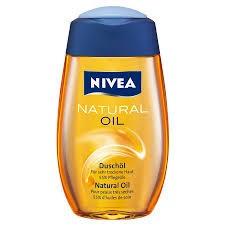NIVEA - Duschgel Natural Oil - 200ml Flasche