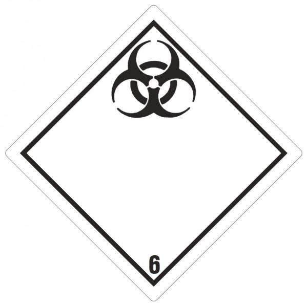 Gefahrgutzeichen Ansteckungsgefahr