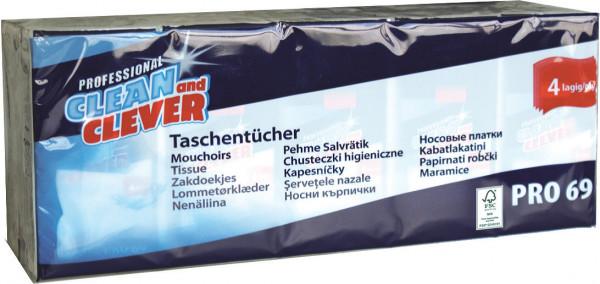 Papiertaschentuch Pack = 15x10 clean& clever
