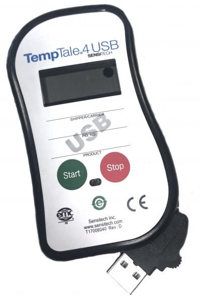 Datenlogger TempTale4 USB Single-use