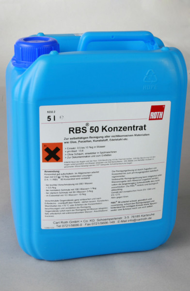 Reinigungsmittel RBS 50 Pack = 5 kg