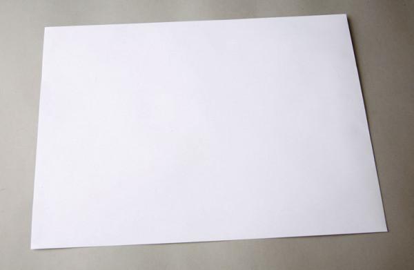 Briefumschlag B4 weiß