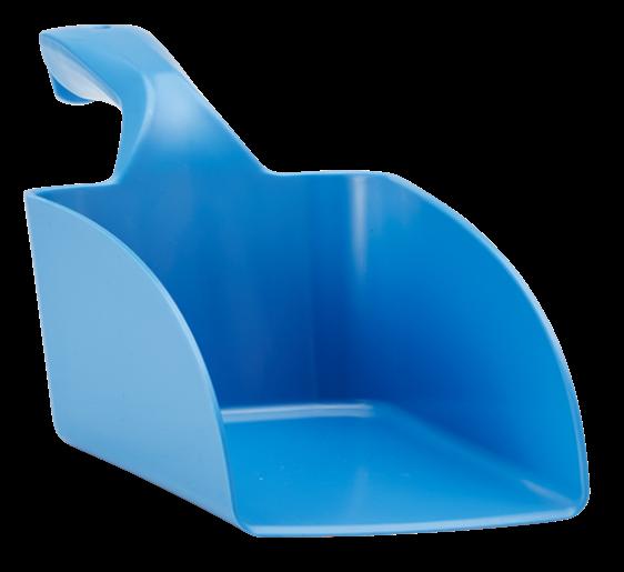 Vikan Handschaufel mit Schaberand blau