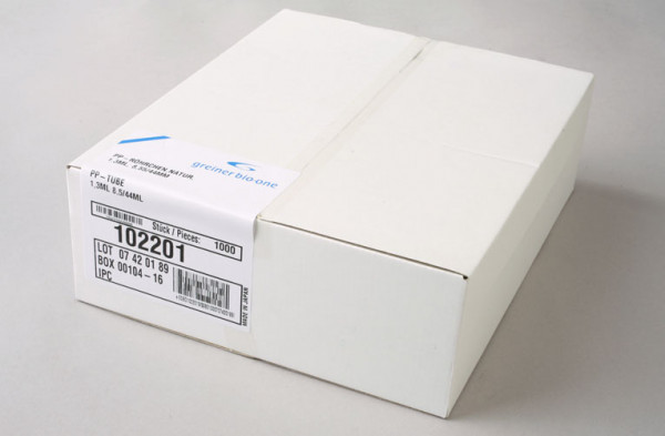 Röhrchen für Micronic III/IIID 1,4 ml Pack = 960 Stück