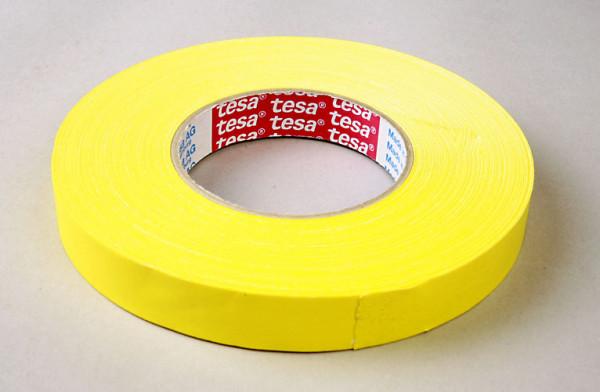 Tesaband 19x50, gelb,Textil 4651