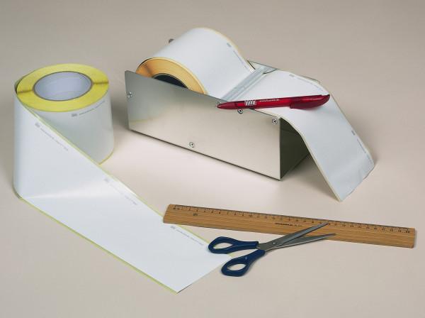 Kontroll-Siegel-Rolle, close-it tape, 95 mm x 50 m, weiß