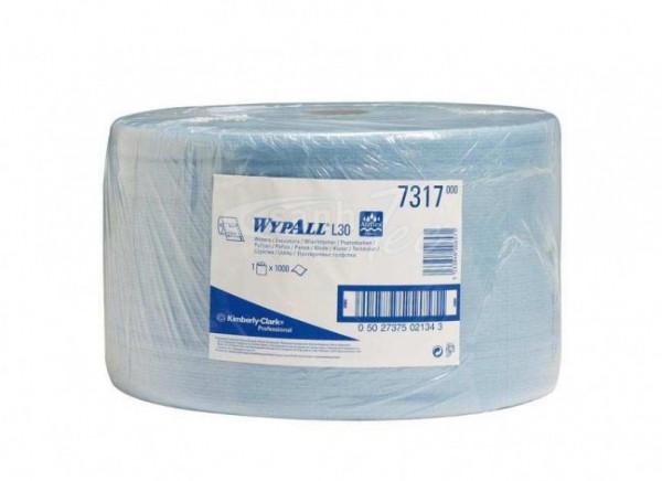 Kimberly-Clark Wischtuch Wypall L20, blau