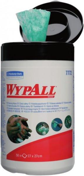 Kimberly-Clark Reinigungstuch -Box Wypall, grün / Spenderbox-Inhalt: 50 Tücher