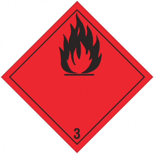 Gefahrgutzeichen, Klasse 3