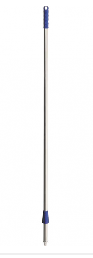 Haug Alustiel 145 cm für Haug Besen, blaue Kappen