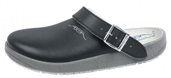 ABEBA Berufsschuh Clog 9252 OB schwarz