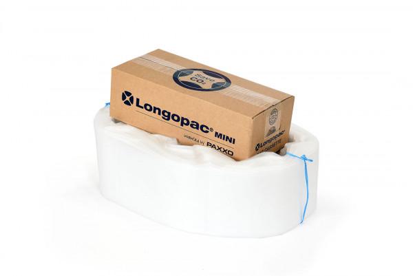Logopac Müllsack-Endlosschlauch-Kassette Mini, transparent