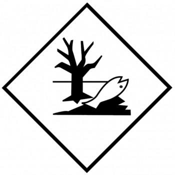 Gefahrgutzeichen Fisch & Baum Umweltgefährdend 70717AL