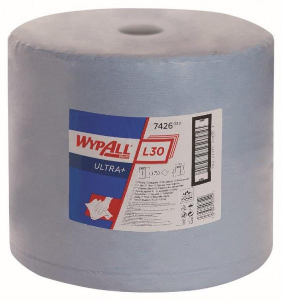 Kimberly-Clark Wischtuch Wypall L30 Ultra+ Großrolle