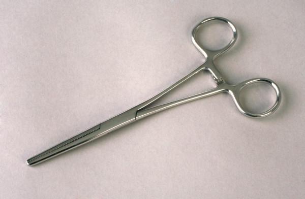 Arterienklemme Pean Stahl 160 160 mm