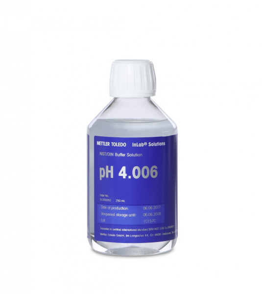 Pufferlösung pH 4.006 NIST/DIN 250 ml