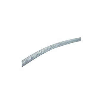 PVC-Gewebeschlauch 9x3 mm, transparent, Rolle=50m
