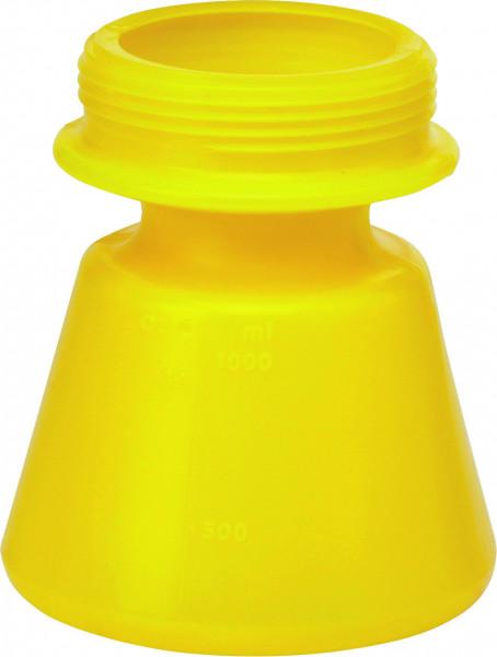 Vikan Behälter 1,4 Liter für Schaumspritzen, gelb