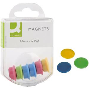 Magnete farbig sortiert