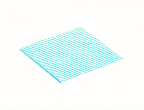 Bonlin Klinik-Mehrzwecktuch, blau/weiß