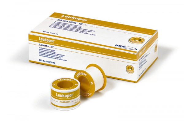 Leukoplast/-por 2,5 cm breit