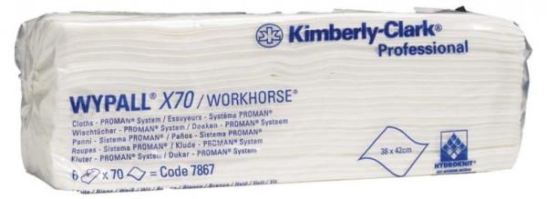 Kimberly-Clark Wischtücher Wypall X70