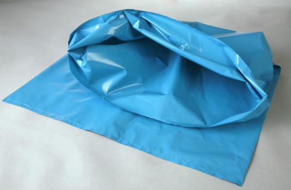 PE-Sack blau, 575x1000x0,1 mm 70 L, Pak=10 St. KAR=15 Pak